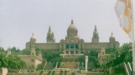 National Museum of Art of Catalunya, excuse photo quality but this was a long time ago!