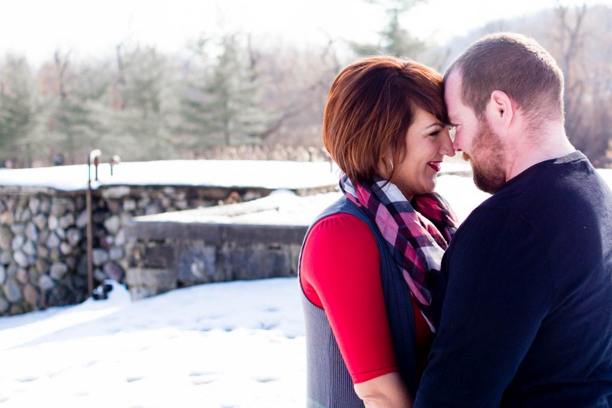 Couple's Valentine's Day Session/Goshen, NY [Michelle & Bill]