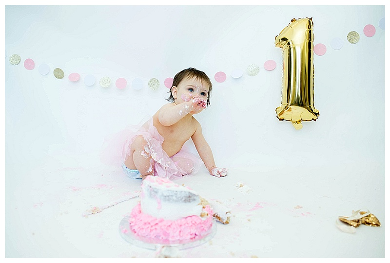 Orange County, NY/Aubrey's First Birthday [Cake Smash]