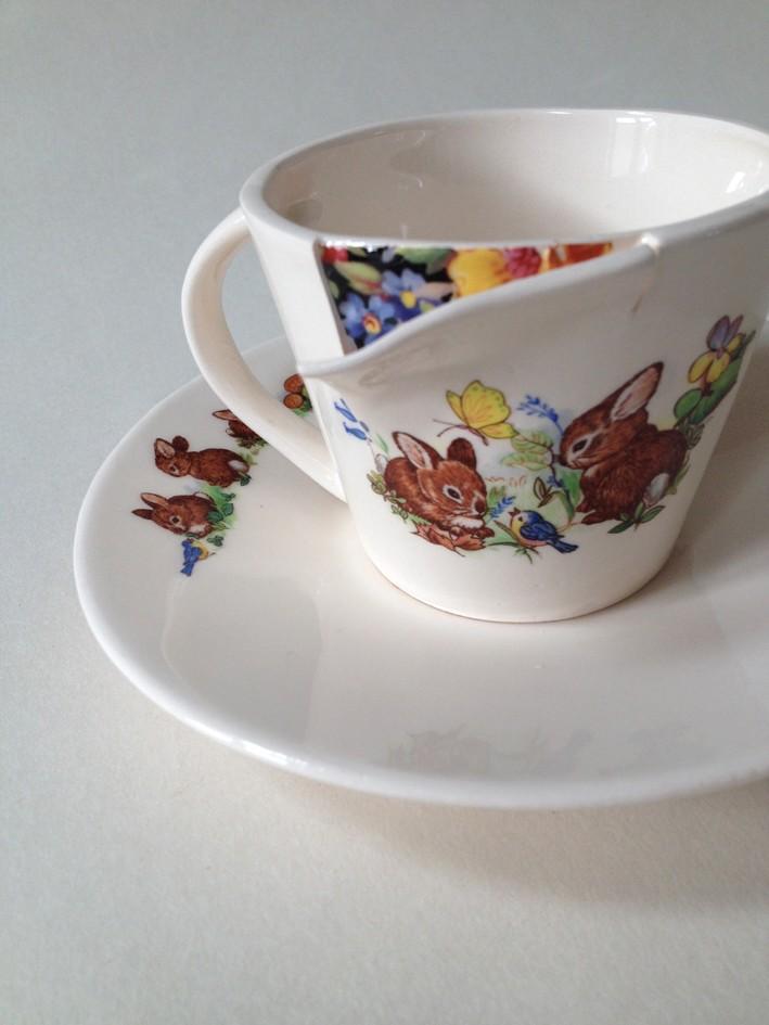 Bunnies Tea Cup