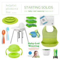 LITTLES  |  Essentials for Starting Solids: Helpful Products for Baby-Led Weaning