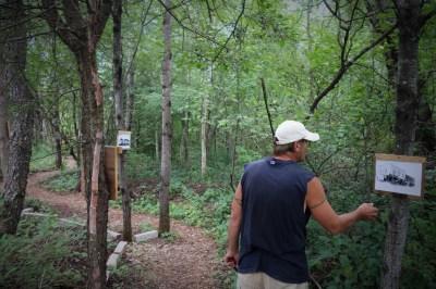Walk through vestiges of iron mining, Oral history project, Gogebic County, MI