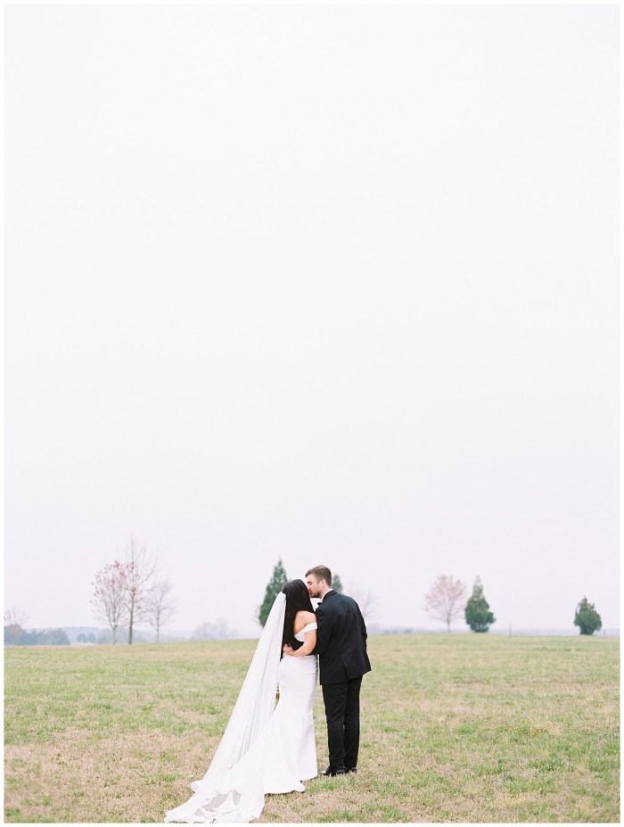 Bride and Groom at Historic Smithonia Farm, Colbert, Georgia