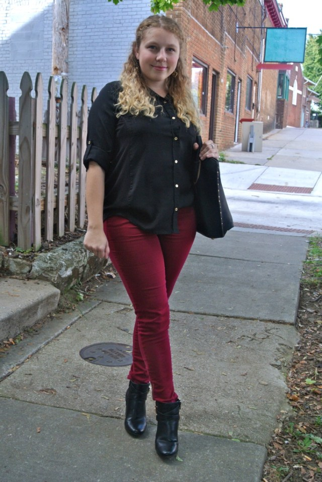 red pants photo 1