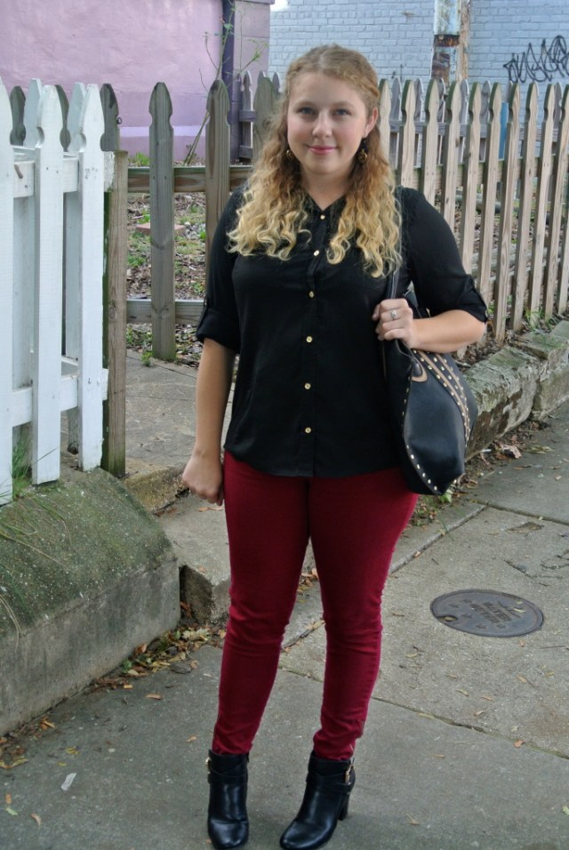 red pants photo 4