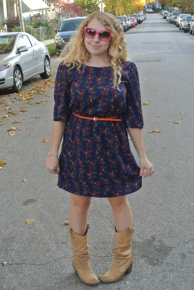 bird dress outfit 1