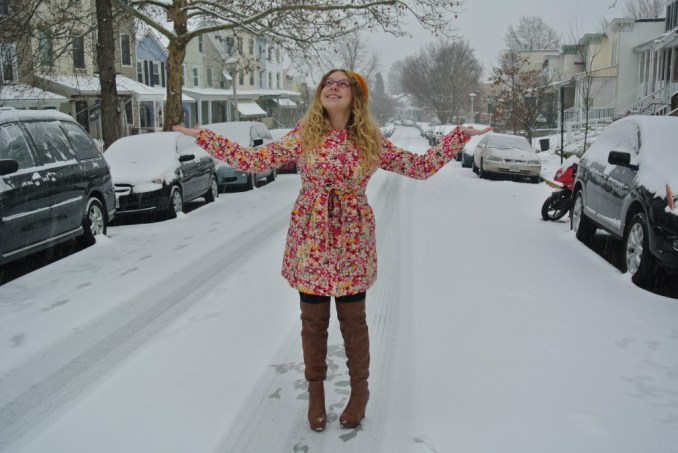 let it snow outfit of the day