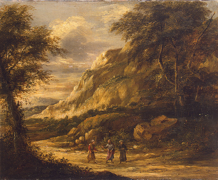 Road To Emmaus Famous Paintings