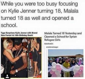 Malala vs. Kylie