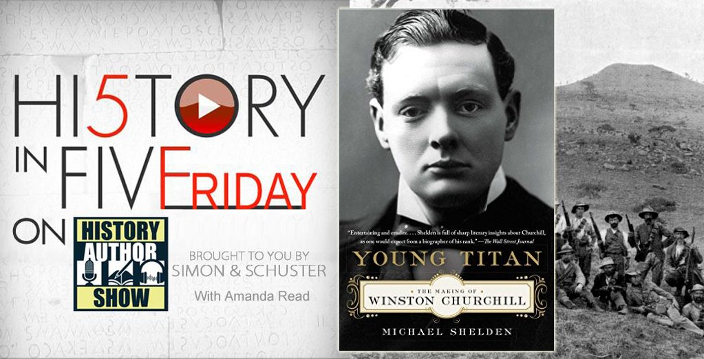 Michael Shelden tells us about young Winston Churchill's challenges