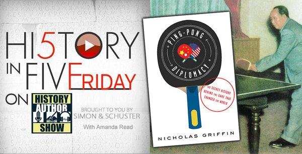 Nicholas Griffin on 'Ping Pong Diplomacy'