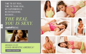 Screenshot from Aerie's website.