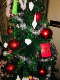 Christmas Tree with Hongbao