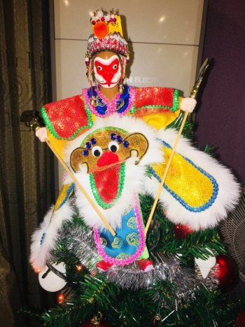 Monkey King Christmas Tree Topper