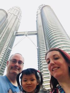 Two Americans in China in Malaysia!