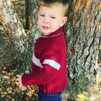 Boy's Shawl-Collared Sweater - Free Crochet Pattern ...