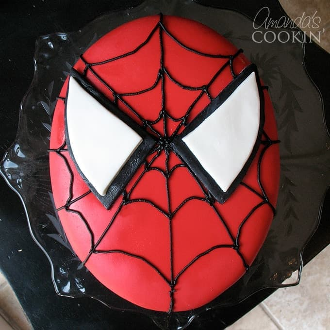 How To Make A Spiderman Cake For Your Spiderman Party