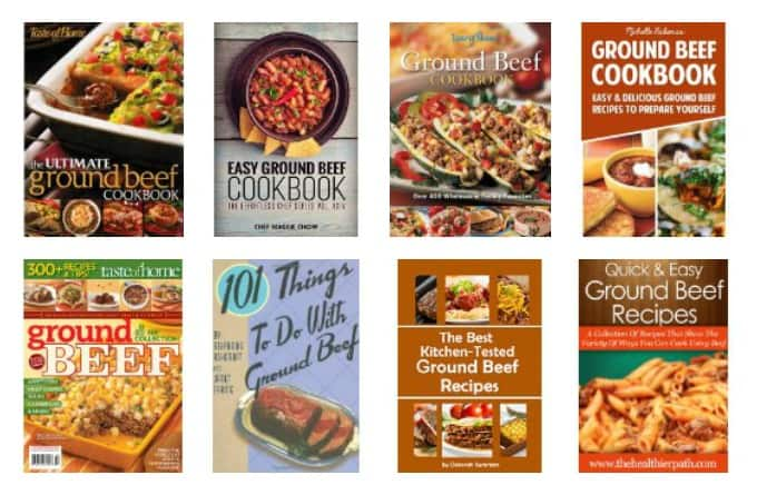 cookbooks with lots of ground beef dinner ideas and recipes