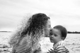rachel kissing baby (1 of 1)