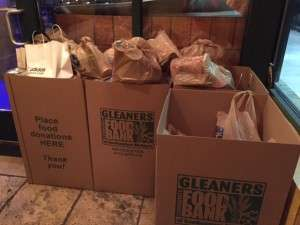donations for the food bank!
