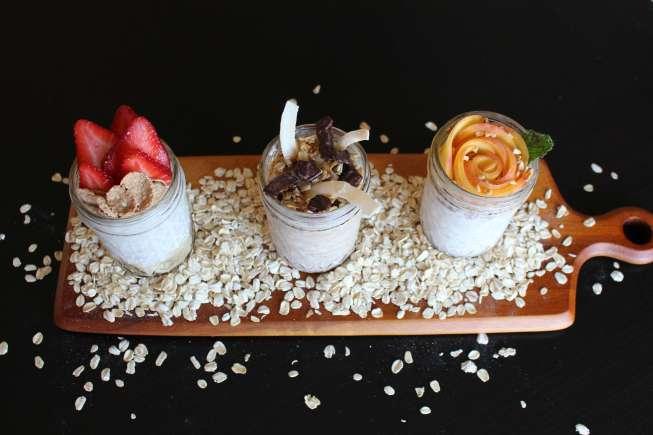 overnight oats, healthy breakfast, easy breakfast, easy meal