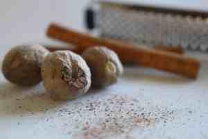 ground nutmeg, fresh ground cinnamon, cinnamon, nutmeg, fresh ground spices