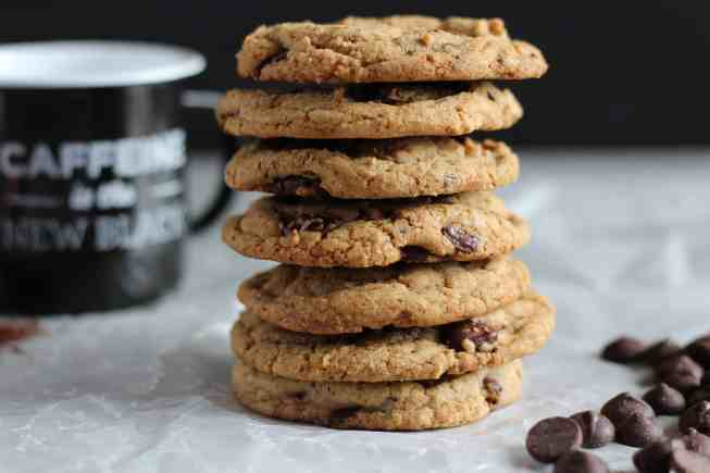 chocolate coffee cookies
