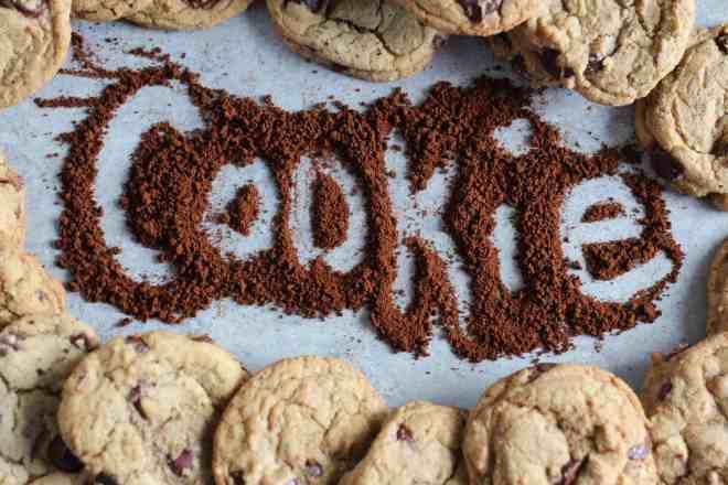chocolate coffee cookie