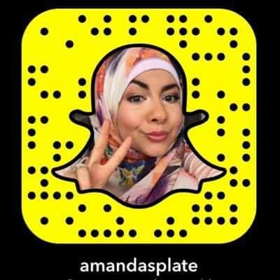Amandas Plate Snapchat