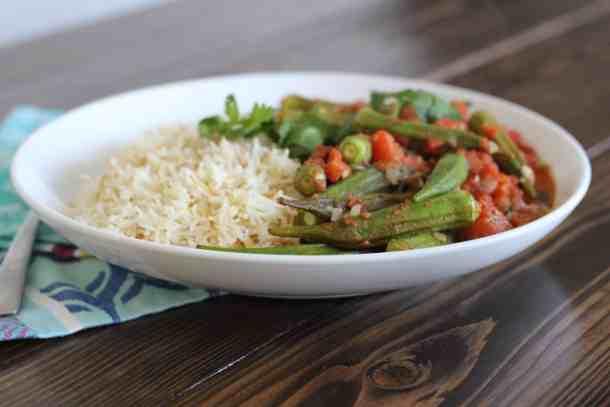 okra stew, okra tomato stew recipe