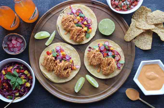 Coconut Shrimp Taco Recipe