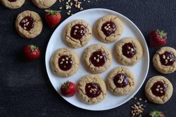 Amanda's Plate PB&J cookies