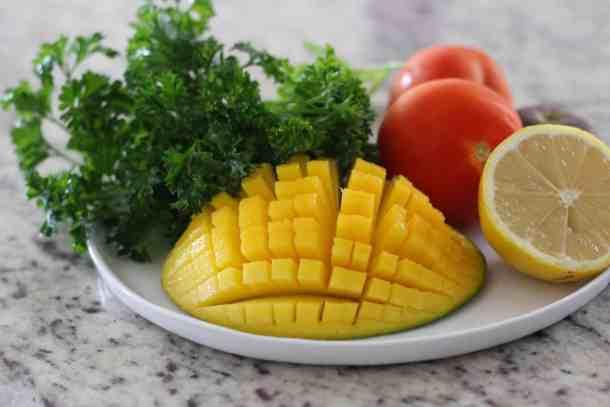 Amanda's Plate Mango Quinoa Tabbouleh