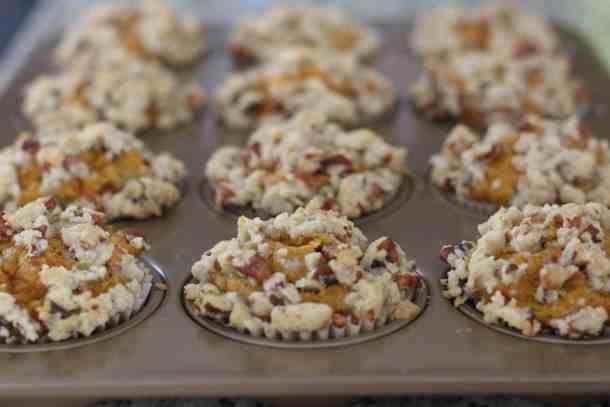 Amanda's Plate pumpkin spice muffins