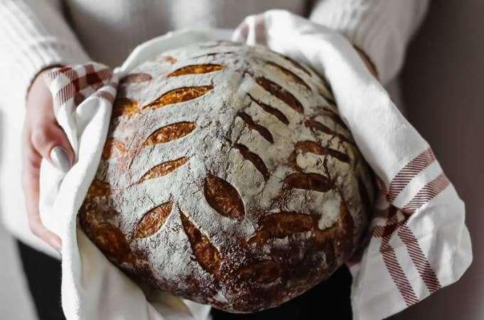 Homemade Sourdough Loaf