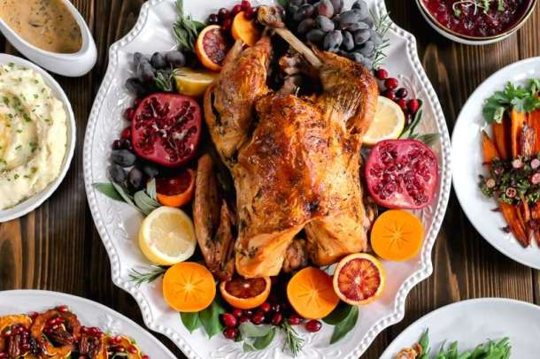 Amandas Plate turkey recipe, citrus herb turkey