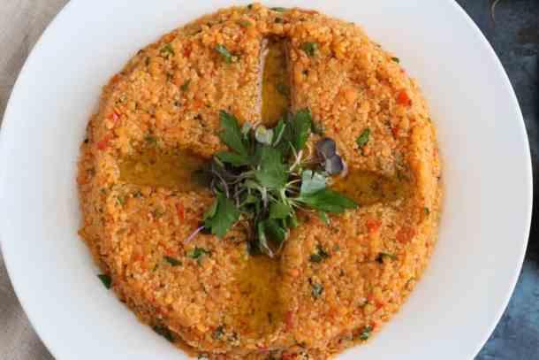 Amanda's Plate Lentil Kibbeh Recipe