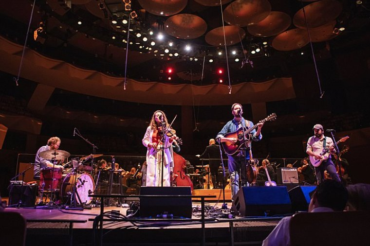 Boettcher Concert Hall,Colorado Symphony Orchestra,Denver Event Photographer,Mandolin Orange,