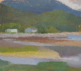 Sitka, Alaska, oil on canvas, 2011