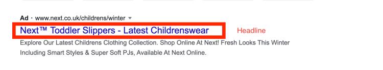 PPC Headline Example