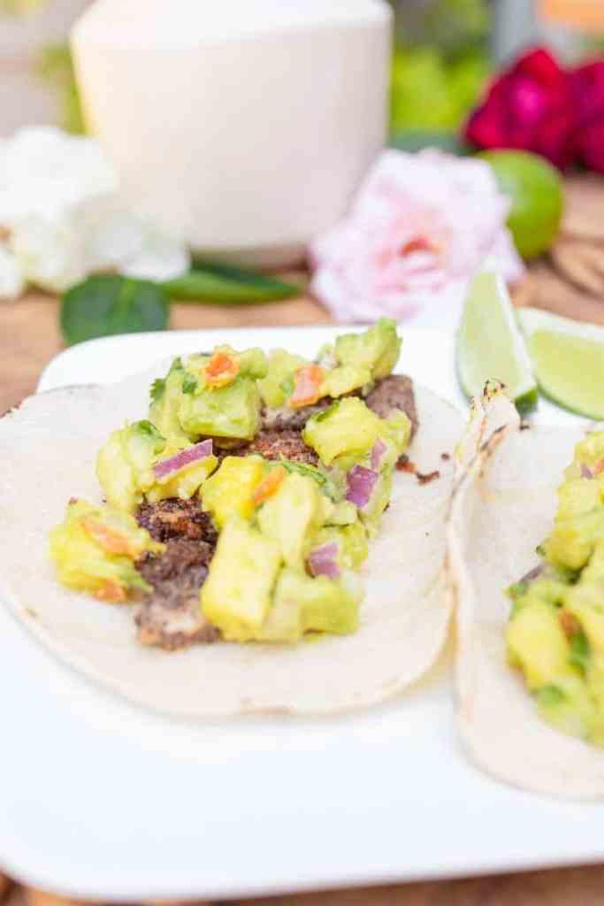 habanero fish tacos close up