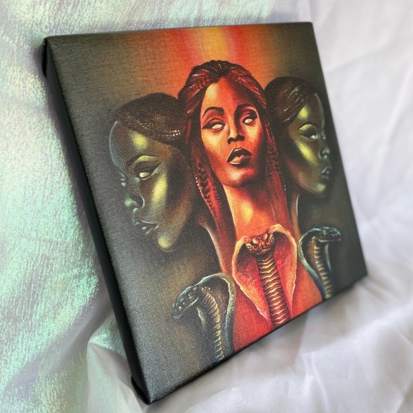 """Mind Master"" Canvas Print"