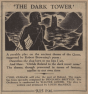 The Dark Tower, 1946