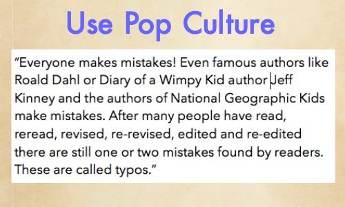 Use Pop Culture