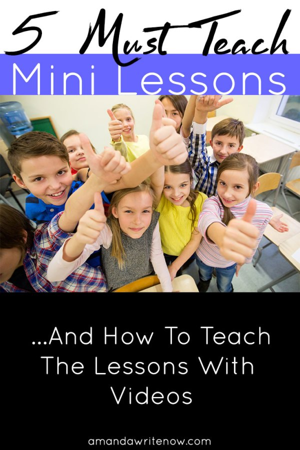 5-must-teach-mini-lessons