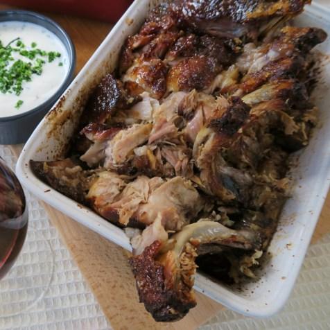 échine de porc à la cuillère