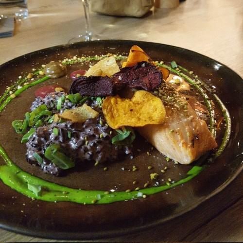 filet de saumon risotto alter ego romain salamone