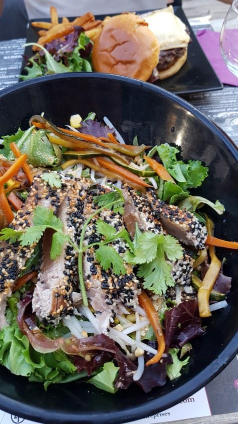 tataki de thon salade le trois 2