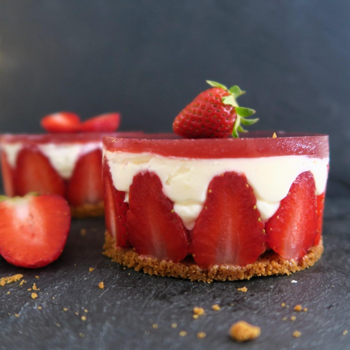 dessert fraises spéculoos