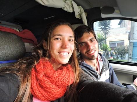 Seguimos viaje hasta Latacunga